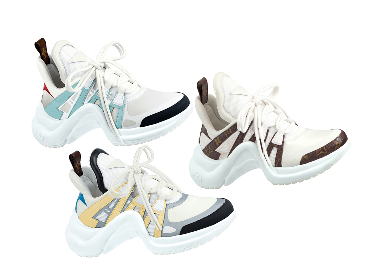 louis vuitton high arch sneakers