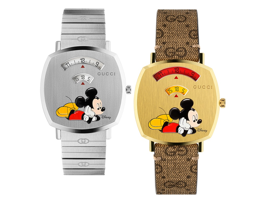 Gucci X Disney Grip Watch \u2013 BAGAHOLICBOY