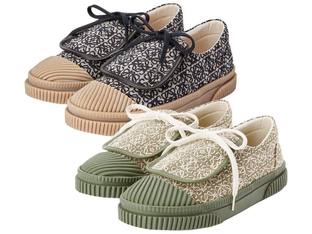 Loewe Anagram Flap Sneaker